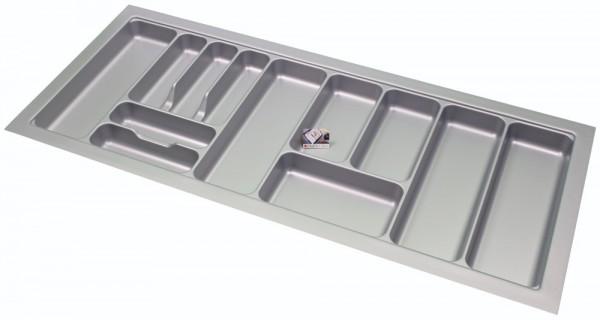 Kunststof Bestekbak Basic Series Grijs 1100-1150 mm