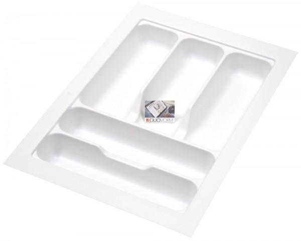 Kunststof Bestekbak Basic Series Wit 300-350 mm
