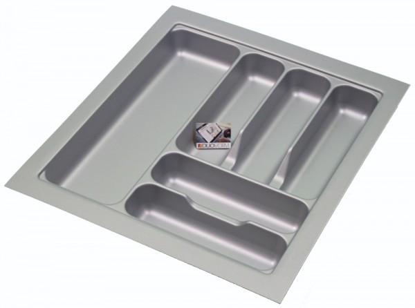 Kunststof Bestekbak Basic Series Grijs 400-450 mm