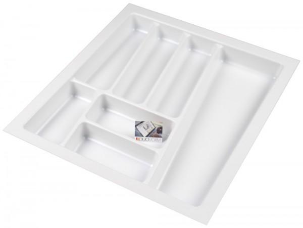 Kunststof Bestekbak Style Serie Wit 400-440 mm