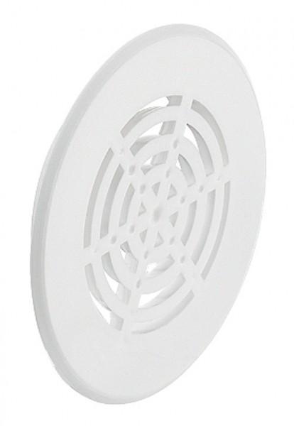 Ventilatierooster Wit en Grijs 50 mm