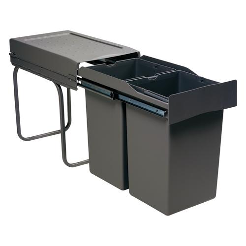 afvalbak voor keukenkast antraciet
