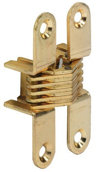 Scharnier, voor houtdikten 18 tot 20 mm, voor onzichtbare montage
