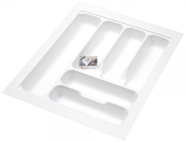 Kunststof Bestekbak Basic Series Wit 350-400 mm