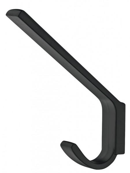 Kapstokhaak zwart 113 mm