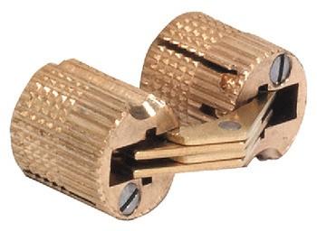 Scharnier 16 mm, voor deurdikte 22 tot 28 mm
