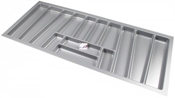 Kunststof Bestekbak Style Serie Grijs 1100-1140 mm