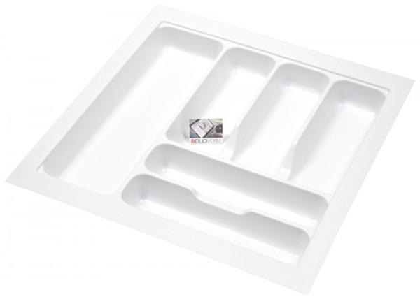 Kunststof Bestekbak Basic Series Wit 450-500 mm