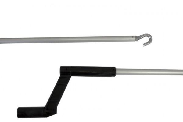 Aluminium bedieningstok, 1100 mm