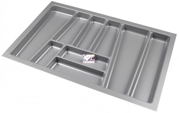 Kunststof Bestekbak Style Serie Grijs 700-740 mm