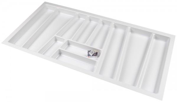 Kunststof Bestekbak Style Serie Wit 900-940 mm