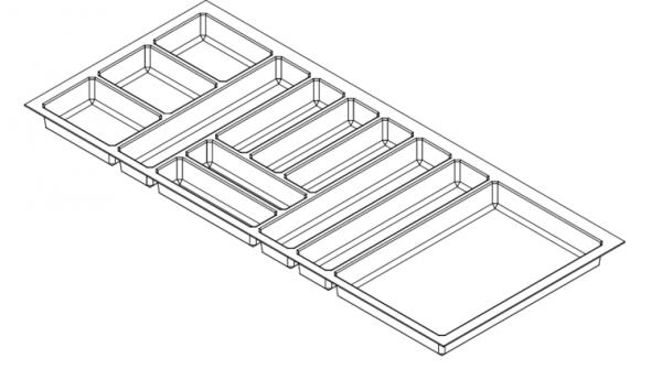 Bestekbak Antislip 1085-1130 mm