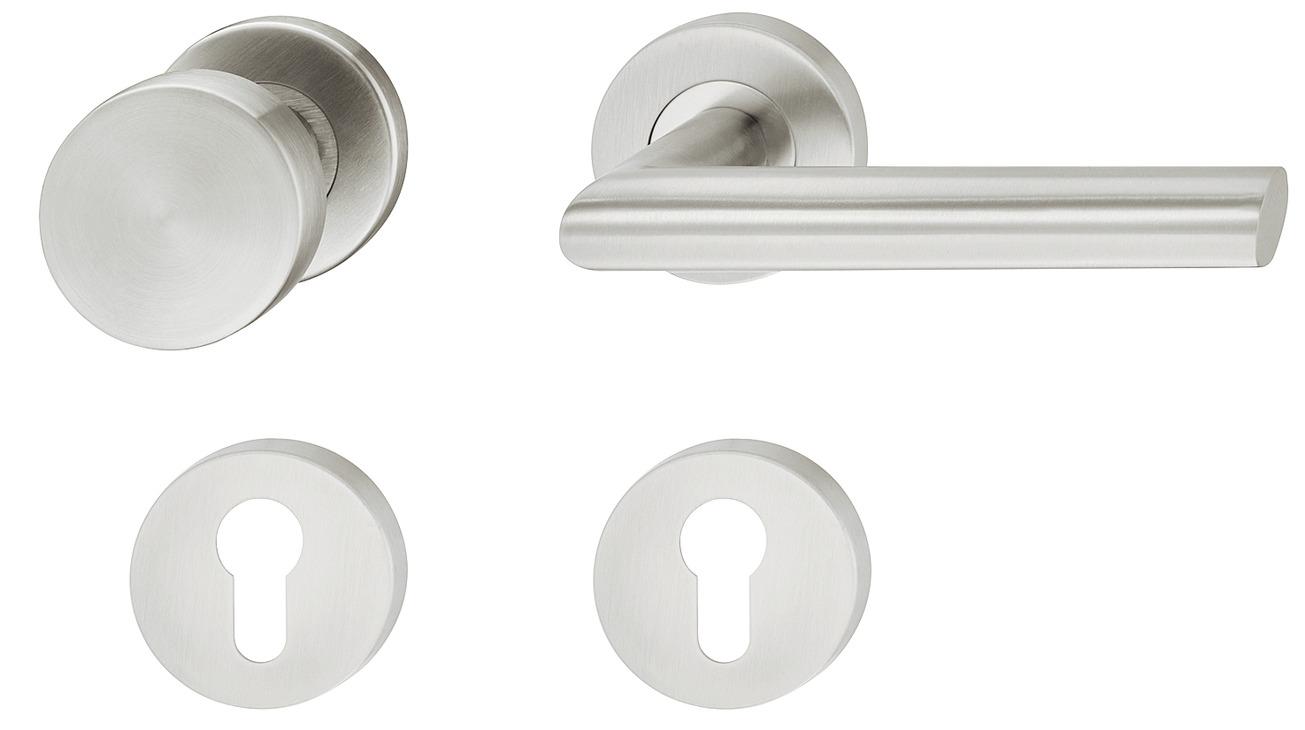Deurkrukken met deurknop
