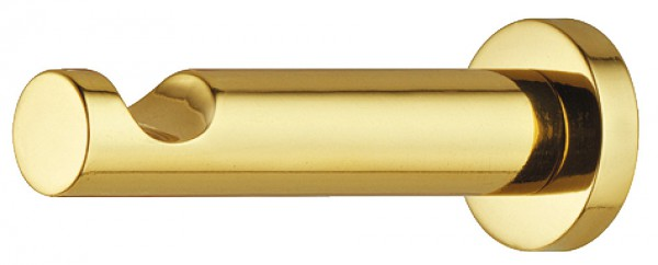 Kapstokhaak 55 mm gepolijst