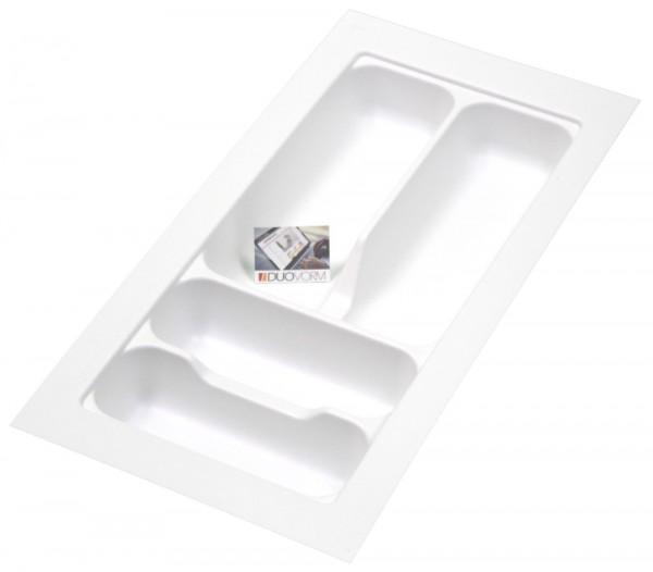 Kunststof Bestekbak Basic Series Wit 200-250 mm