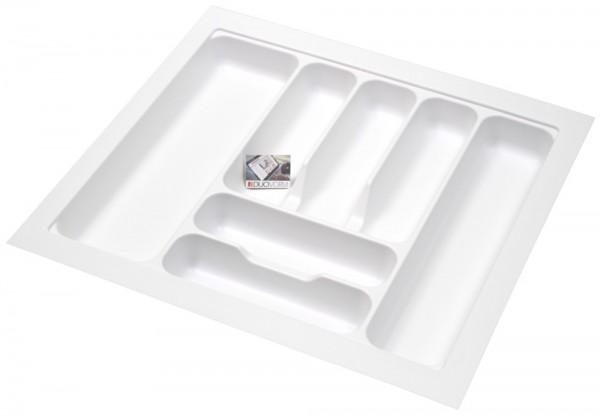 Kunststof Bestekbak Basic Series Wit 500-550 mm