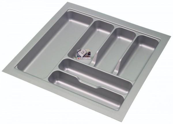 Kunststof Bestekbak Basic Series Grijs 450-500 mm
