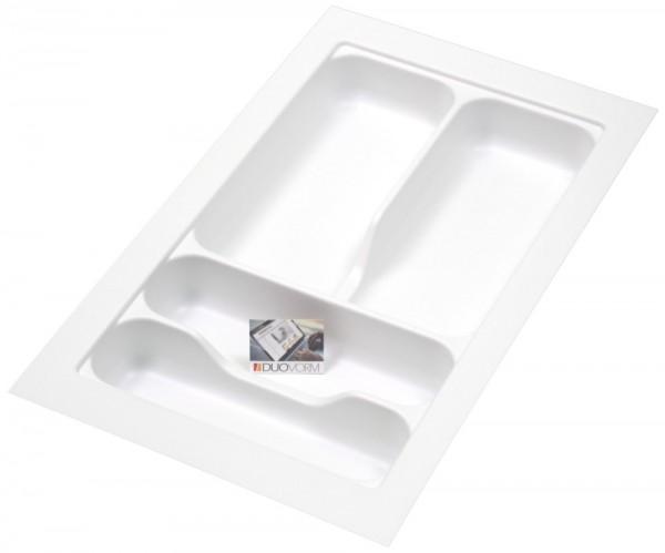 Kunststof Bestekbak Basic Series Wit 250-300 mm