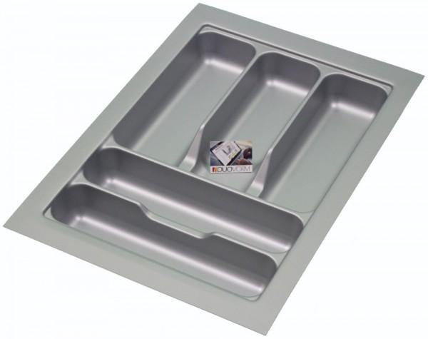 Kunststof Bestekbak Basic Series Grijs 300-350 mm