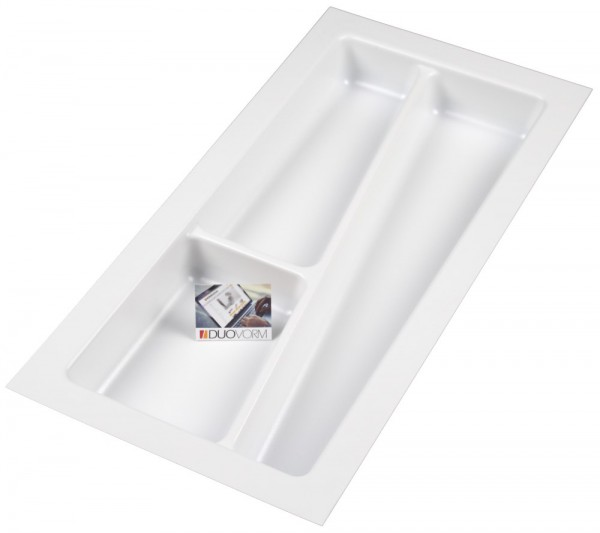 Kunststof Bestekbak Style Serie Wit 200-240 mm