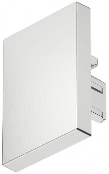 Loox eindkap voor LED-profiel 2103 zwart/zilver/RVS-kleurig (2 stuks)