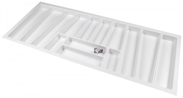 Kunststof Bestekbak Style Serie Wit 1100-1140 mm