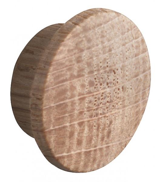 eiken massief houten afdekkap