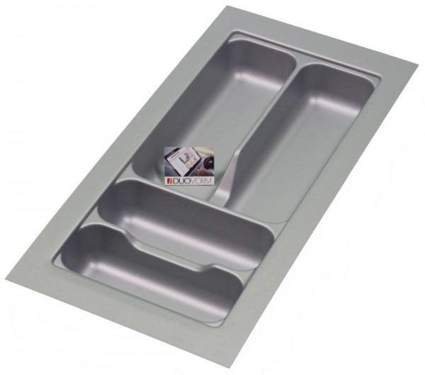 Kunststof Bestekbak Basic Series Grijs 200-250 mm