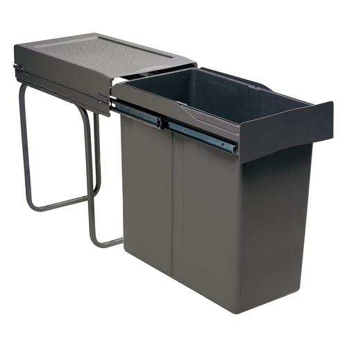 afvalbak antraciet 40 liter