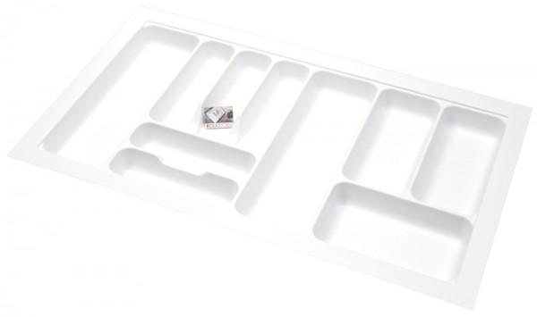 Kunststof Bestekbak Basic Series Wit 800-850 mm