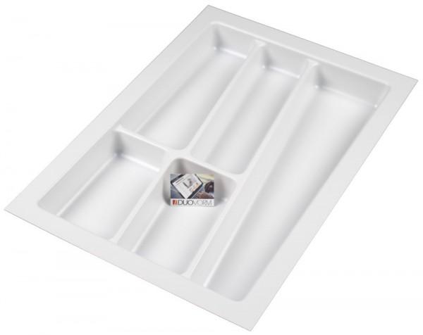 Kunststof Bestekbak Style Serie Wit 300 - 340 mm